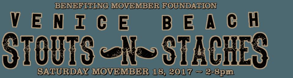 Stouts n Staches - Sat Nov 18, 2017 - 2-8pm